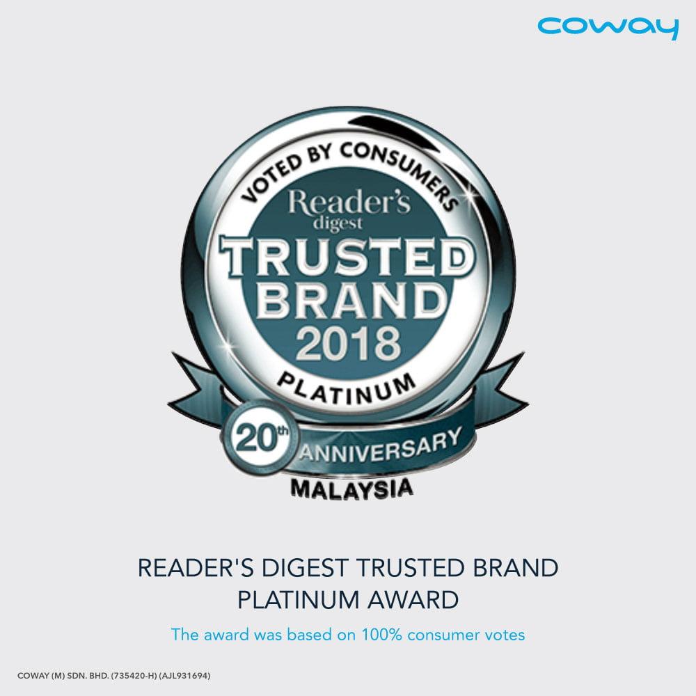 Coway platinum award