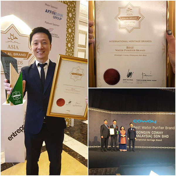 coway asia halal brand award