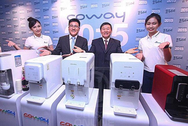 coway jenama besar di korea