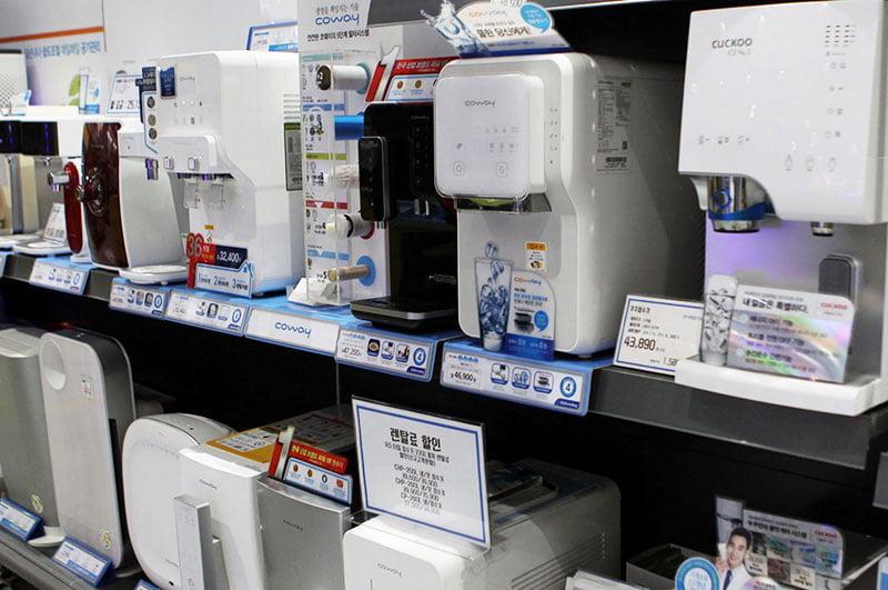 produk coway di korea
