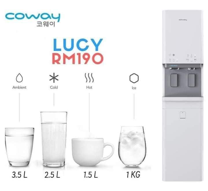 jenis suhu penapis air lucy coway