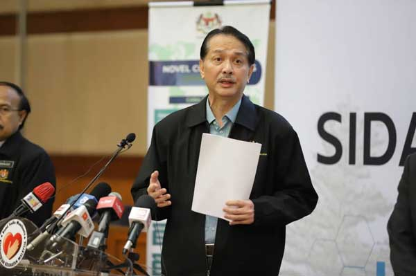 ketua pengarah kesihatan malaysia