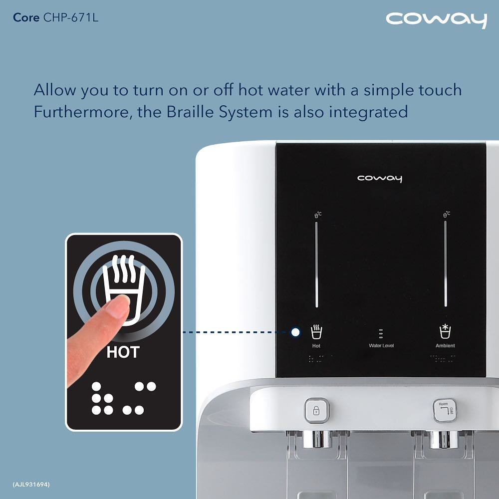 one touch sensor core coway